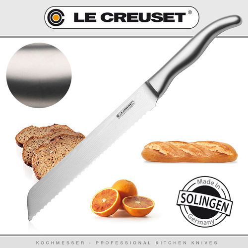 Le Creuset - Bread Knife Stainless Steel Handle