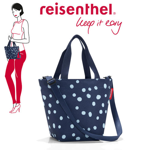 reisenthel - shopper XS - spots navy