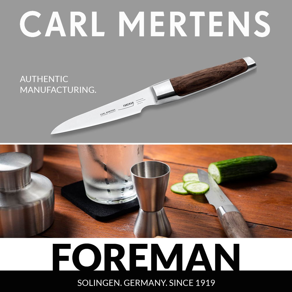 Carl Mertens - FOREMAN - Vegetable Knife 9 cm