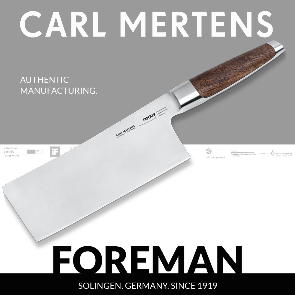 Carl Mertens - FOREMAN - Chinese chef's knife 17,5 cm