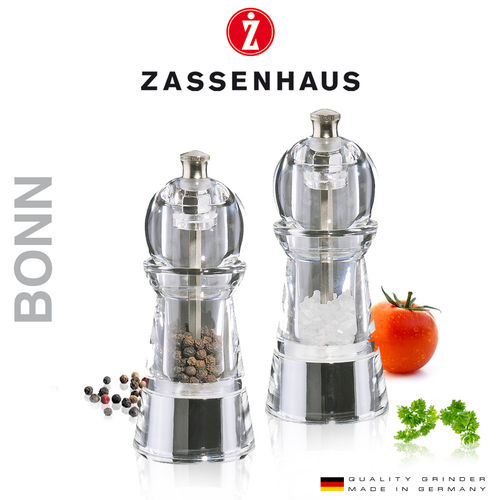 "Zassenhaus - Pepper and salt mill ""Bonn"""