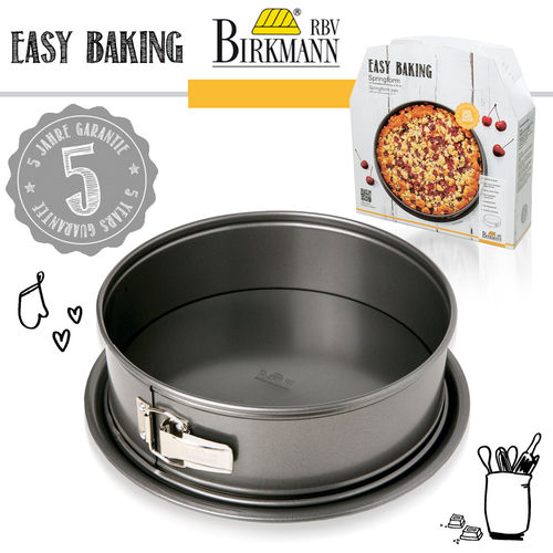 RBV Birkmann - Baking tin Ø 20 cm - Easy Baking