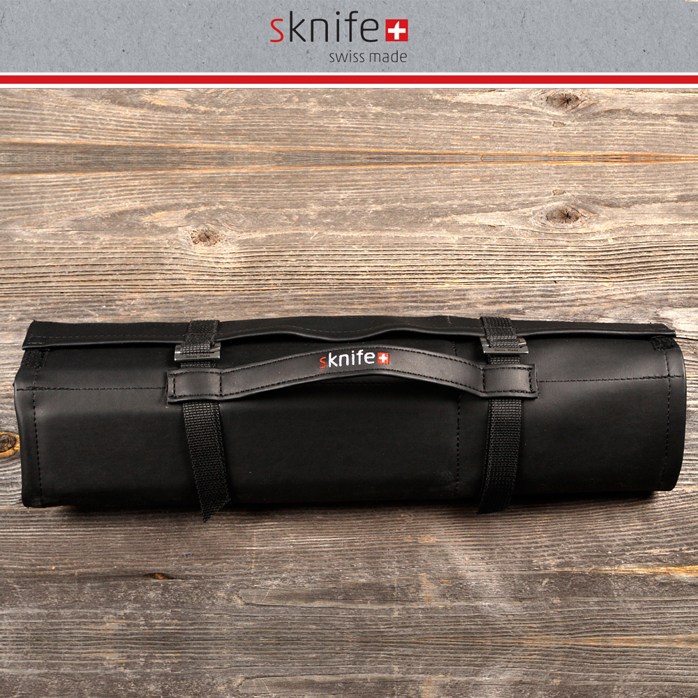 sknife - knife bag in leather