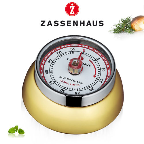 "Zassenhaus - Timer ""Speed"" - brass-colored"