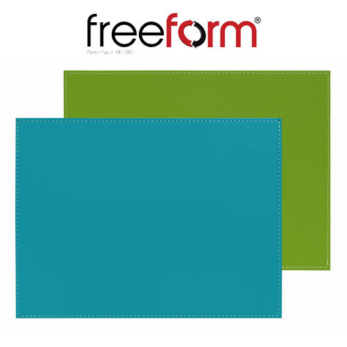 Freeform - Placemat - Green & turquoise - 40 x 30 cm