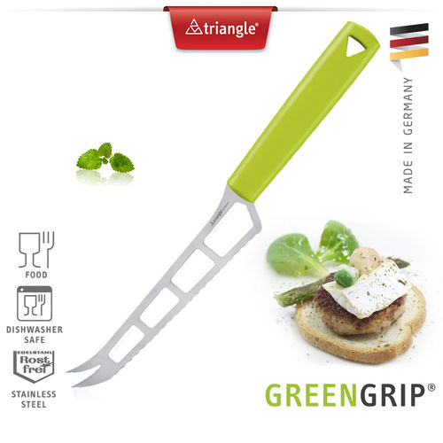 Triangle® - Cheese knife - GreenGrip