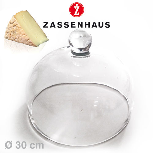 Zassenhaus - Glass Dome for Cheese dome Ø 30 cm