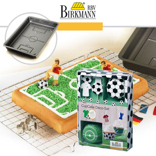 RBV Birkmann - baking pan pitch + CupCake Deco-Set