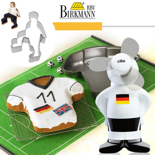 RBV Birkmann - baking pan Shirt + Cookie cutter + Mini Fan