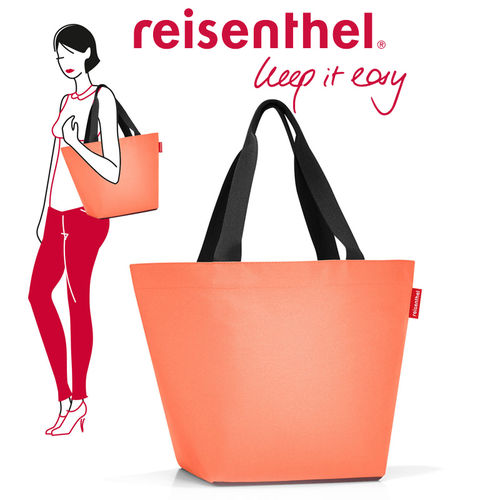 reisenthel - shopper M - flesh aubergine