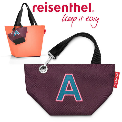 reisenthel - mybag - aubergine/flesh