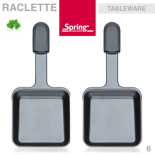 Spring - Pizza Raclette 6 - Raclette dish set of 2 pcs