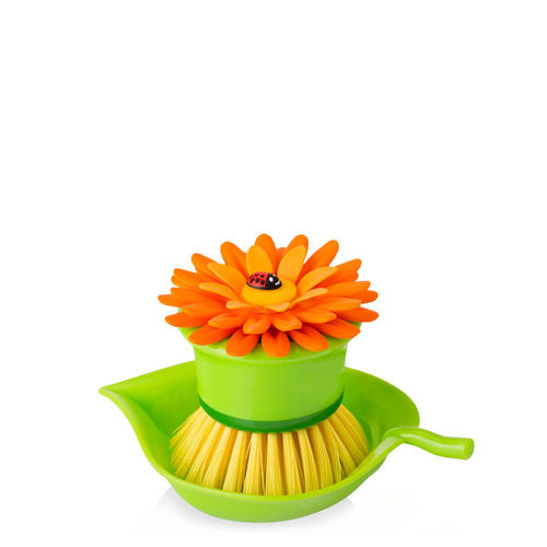 Vigar - Cup brush Flower - orange