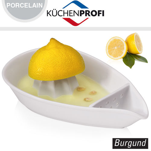 "Küchenprofi - Citrus press ""Burgund"""