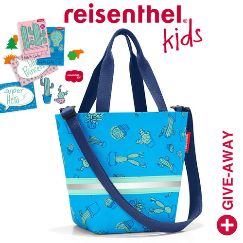 reisenthel - shopper XS - kids - cactus blue