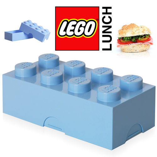 LEGO - Lunch Box - Hellblau