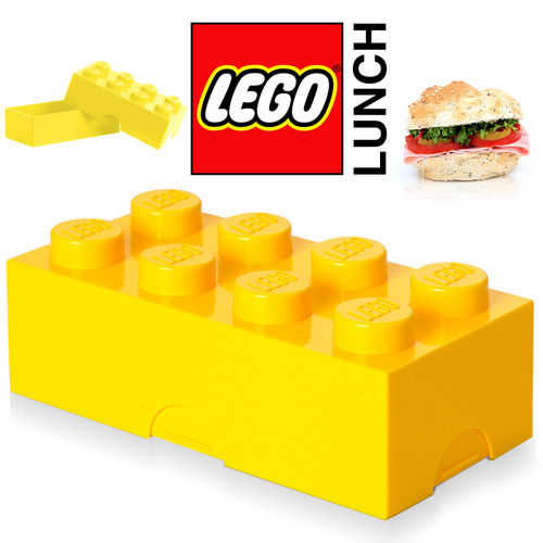 LEGO - Lunch Box - Yellow