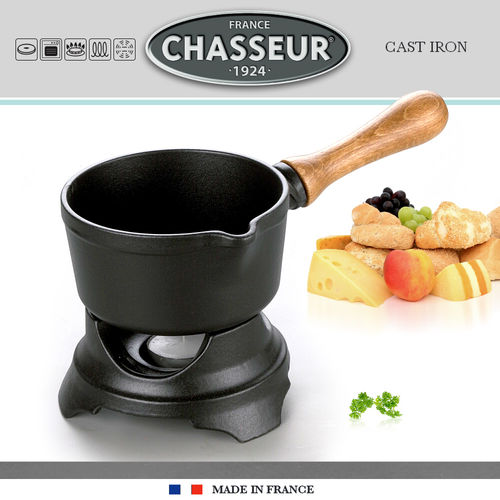 Chasseur - Chocolate Fondue - Sauce warmer - Black