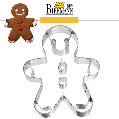 RBV Birkmann - Gingerman with inner impression 7.5 cm