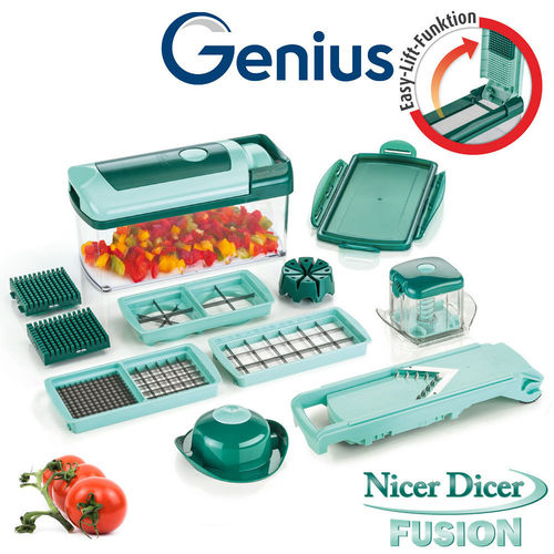 Genius - Nicer Dicer Fusion Set of 13 pcs.