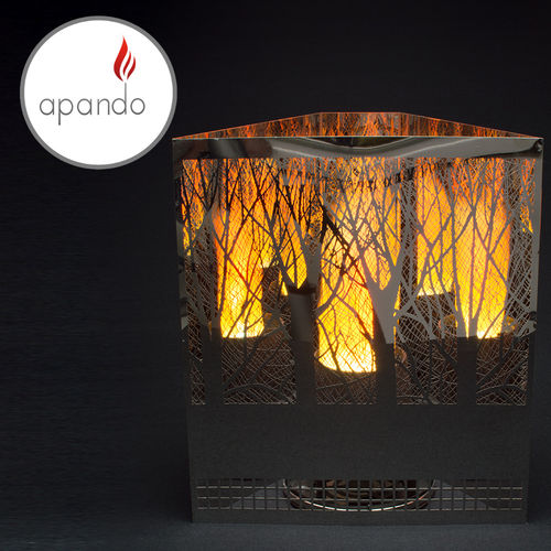 "Apando - Flammenleuchte ""Firebox"" - Forest"