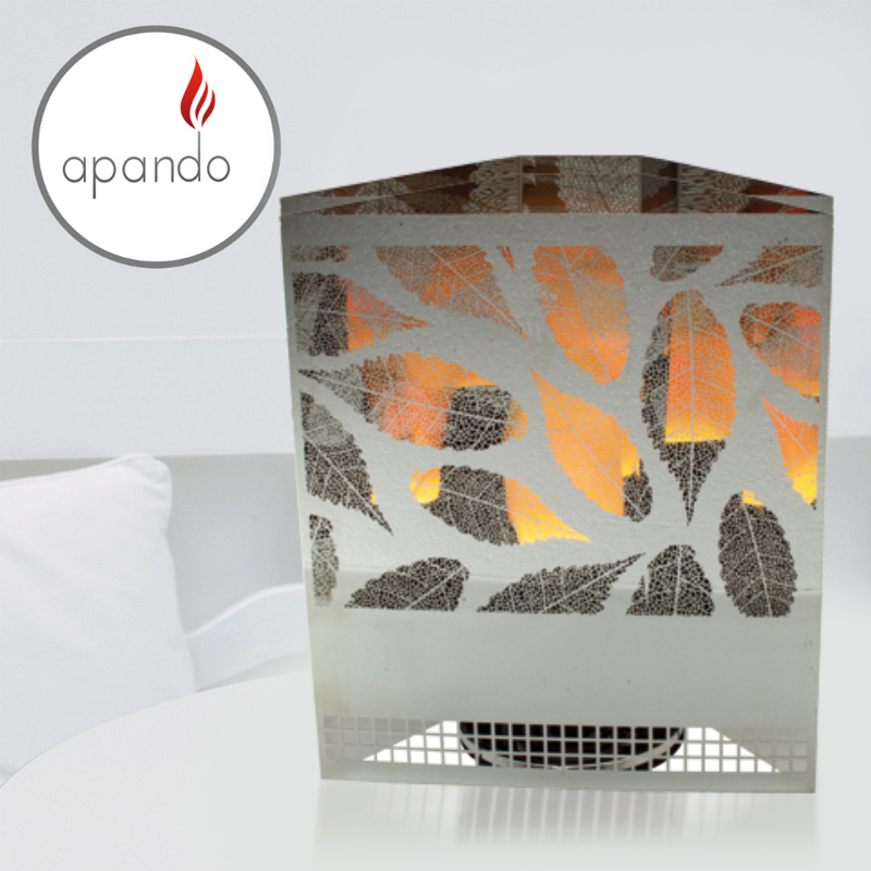 "Apando - Flame light ""Firebox"" - Leaf"