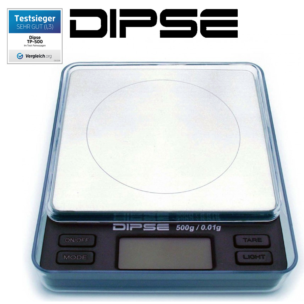 Dipse - Digital Scale TP Series - Table Scale 500g