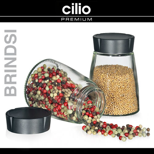 "cilio - Storage Jars Set of 2 ""Brindisi"""
