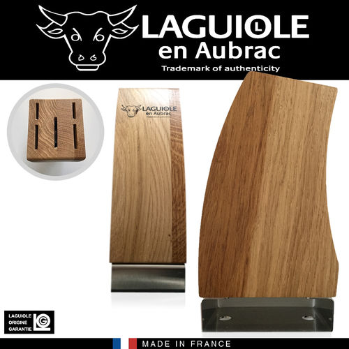 Laguiole - Knife block - olive wood