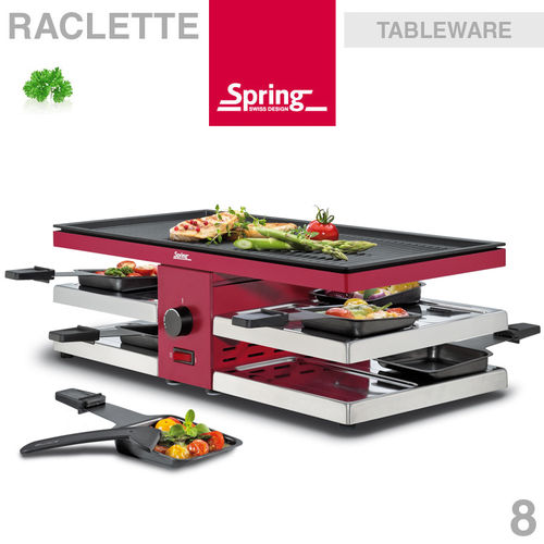 Spring - Pizza Raclette 8 Fun