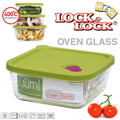 Lock & Lock - OVEN GLASS - grün