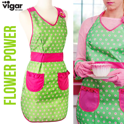 Vigar - Apron Flower Power