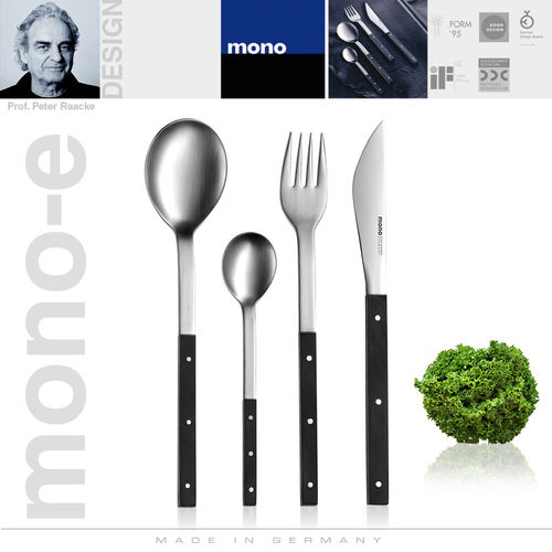 mono-e - Cutlery set, 4 pcs. with short blade
