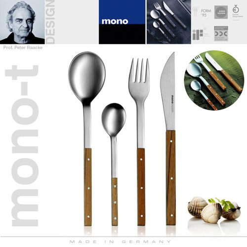 mono-t - Cutlery set, 4 pcs. with short blade