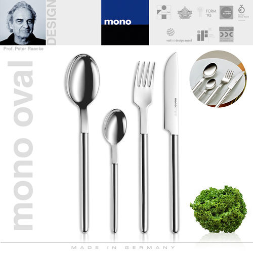 mono oval - Cutlery set, 4 pcs.