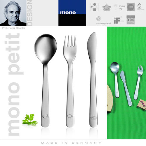 mono petit - children's flatware 3 pcs.