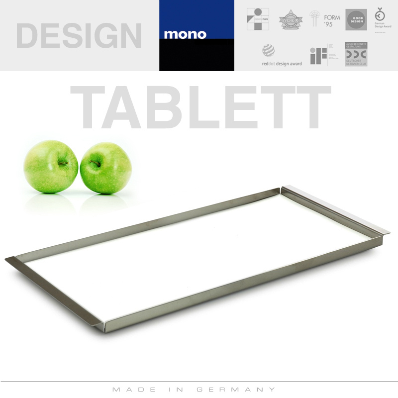 mono Tablett Multitablett S incl Einlage 10481 310 x 150 mm