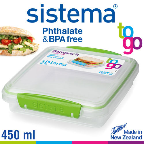 sistema - Sandwich To Go - 450 ml