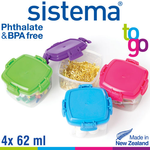 sistema - Knick Knack Pack Mini To Go Set of 4