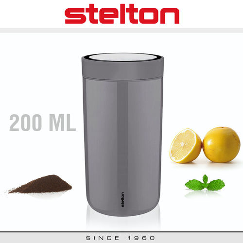 Stelton - To Go Click - Becher 200 ml - Granit