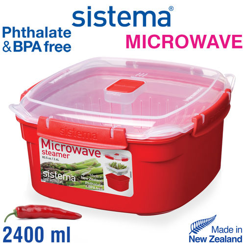 Sistema - Microwave steam cooker - 2400 ml