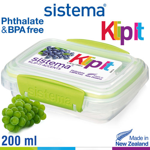 Sistema - Klip It fresh box - 200 ml