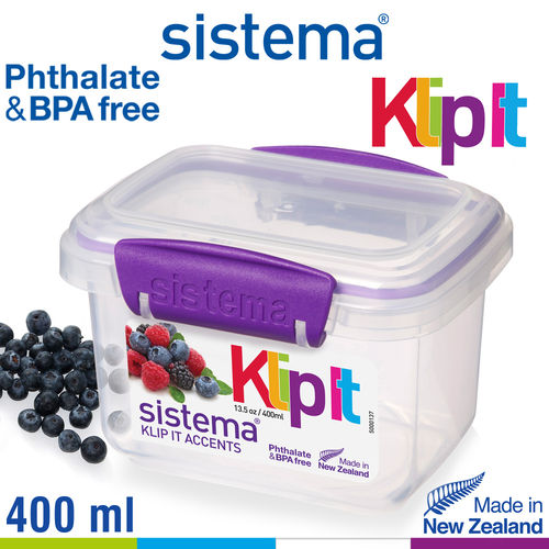 Sistema - Klip It fresh box - 400 ml