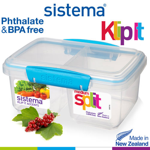 Sistema - Klip It fresh box Split - 1000 ml