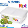 Sistema - Klip It fresh box Split - 2000 ml