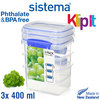 Sistema - Klip It Fresh box set - Set of 3