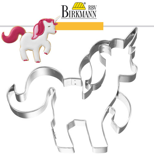 RBV Birkmann - Cookie cutter Unicorn 10 cm