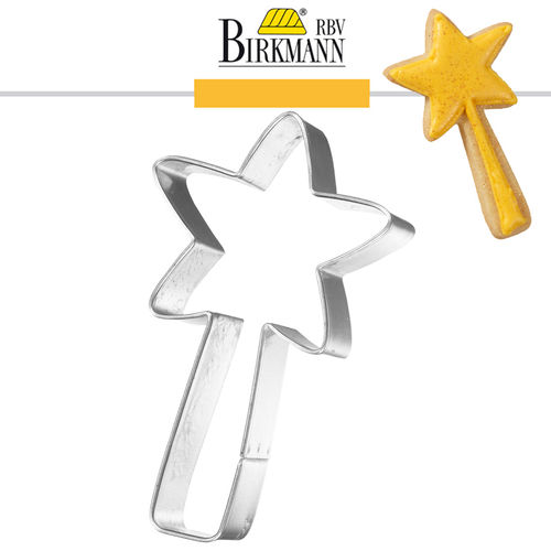 RBV Birkmann - Cookie cutter Fairy stick 8 cm