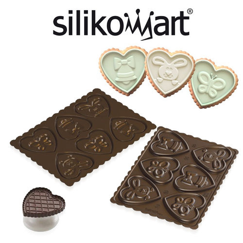 Silikomart - Cookie Lovely Easter 2er Set