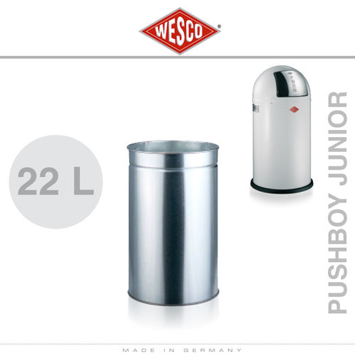 Wesco - Insert 22 Litre Metal - Pushboy Junior
